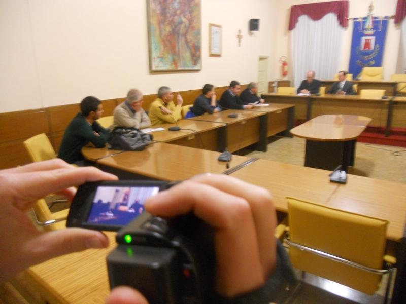 Le riprese dell'incontro