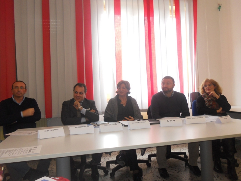 I referenti del progetto di inclusione