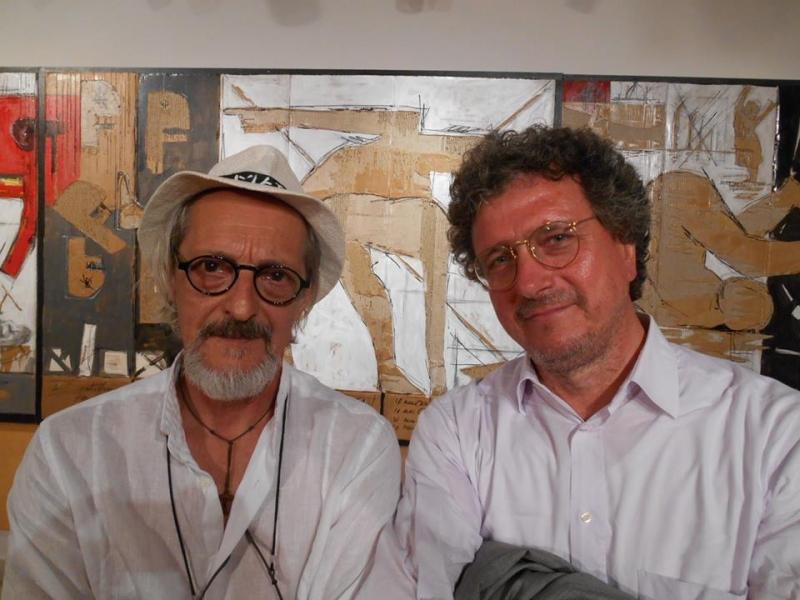 Maestro F.Sciusco e Presidente A. D'anastasio