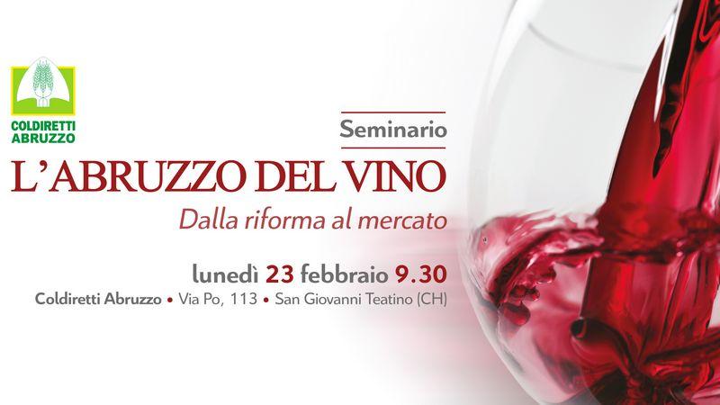 Seminario Abruzzo del Vino: dalla riforma al mercato