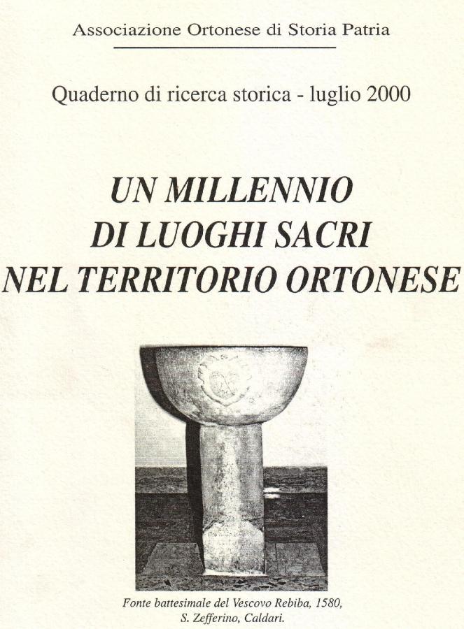 quaderno di ricerca storica luglio 2000