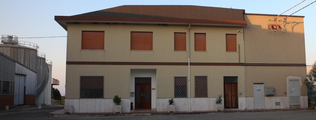 La sede dellaCantina Coldiretti Tollo