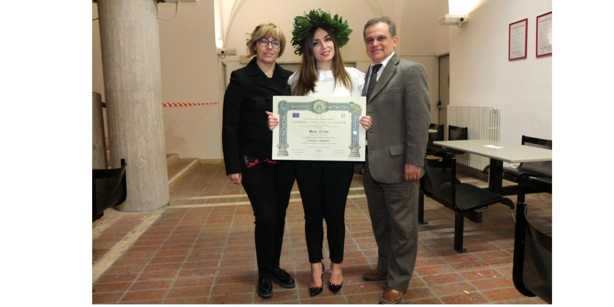 Sofia Di Deo Laurea Magistrale in Economia e Management 15 febbraio 2019